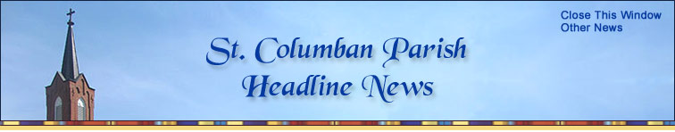 St. Columban Parish News, Chillicothe, Missouri